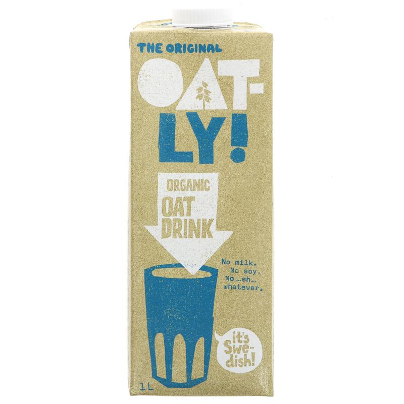 Oatly - Organic Oat Drink
