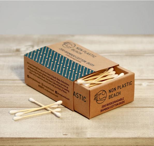 Non Plastic Beach - Bamboo Cotton Buds