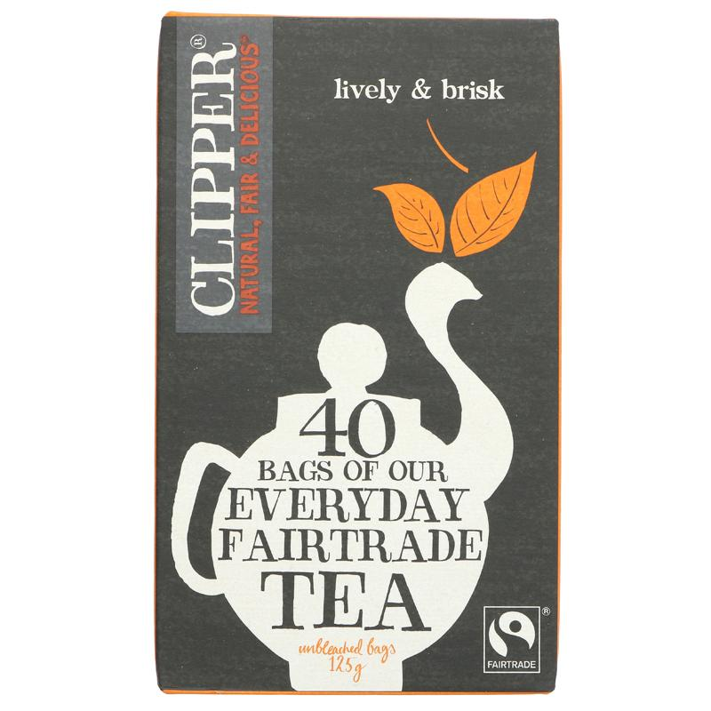Clipper - Everyday Fairtrade Tea Bags (40 bags)