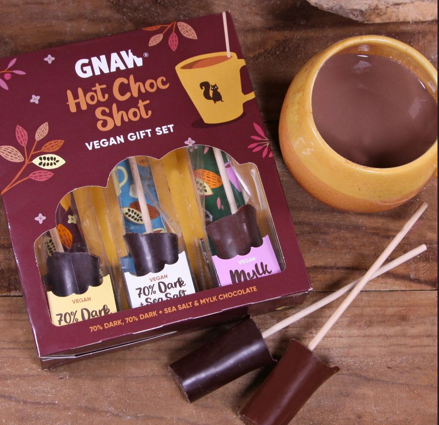 Gnaw - Vegan Hot Choc Shot Gift Set COMING SOON