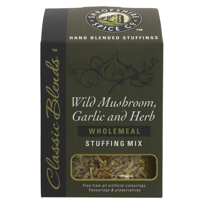 Shropshire Spice - Wild Mushroom, Garlic and Herb Wholemeal Stuffing Mix