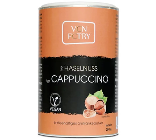 Instant Cappuccino - Hazelnut