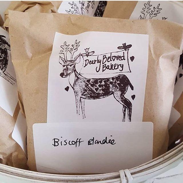 Deerly Beloved Bakery - Biscoff Blondie AVAILABLE WEDS-SAT