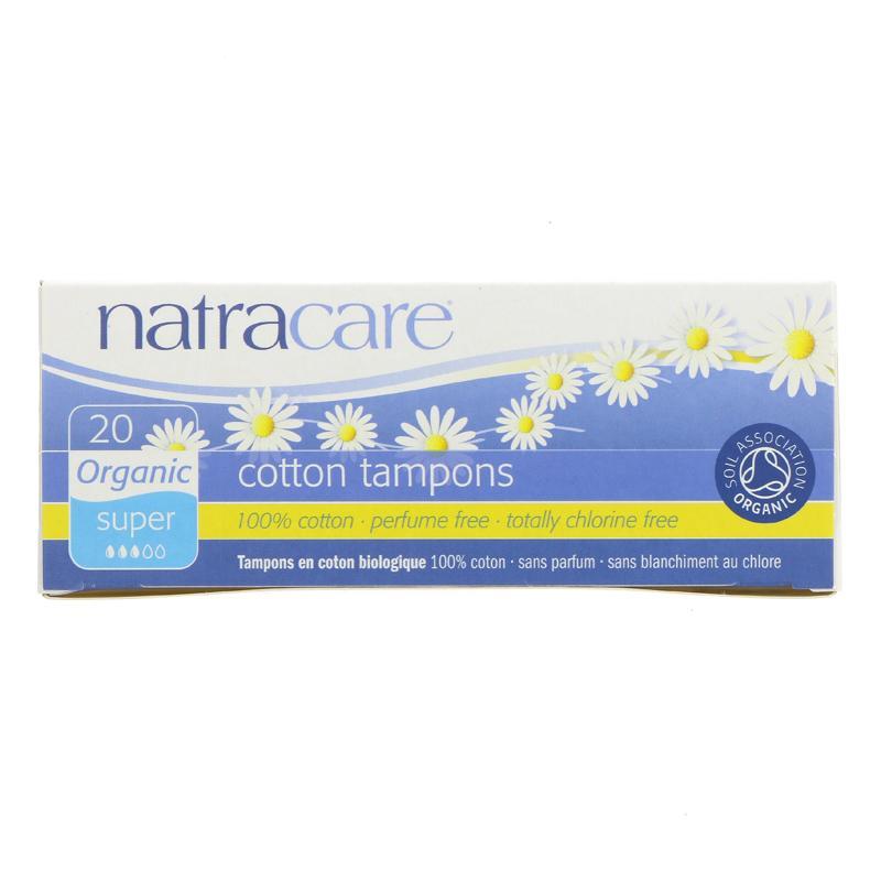 Natracare Super Tampons (non applictor)