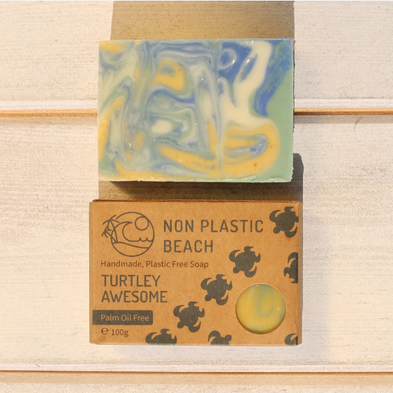 Non Plastic Beach - Handmade Soap 'Turtley Awesome'