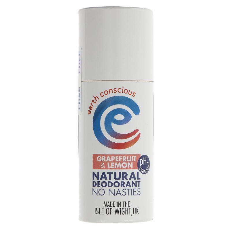 Earth Conscious - Grapefruit & Lemon Deodorant Stick