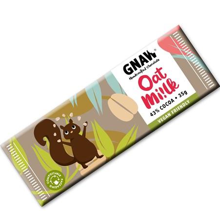 Gnaw - Snack Size Oat Mylk Chocolate Bar (35g)