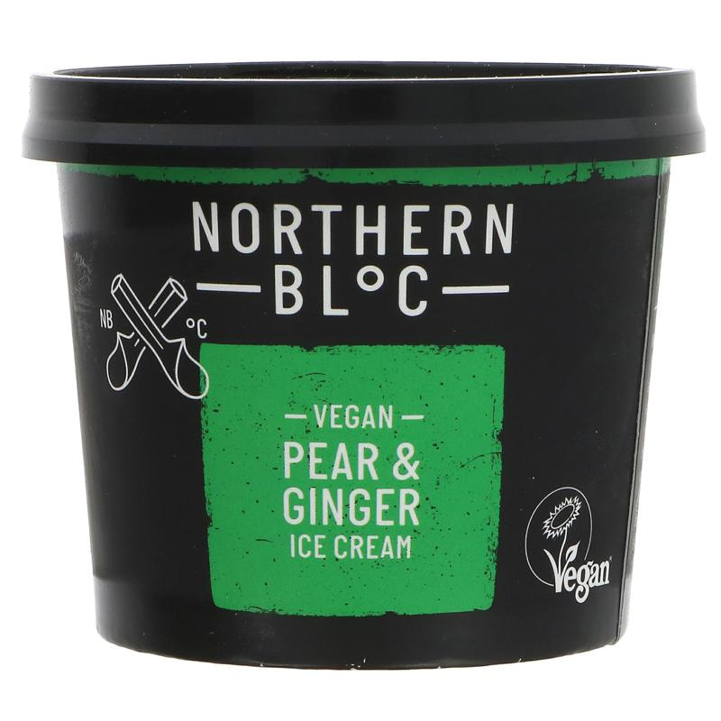 Northern Bloc - Pear & Ginger Ice Cream 100ml