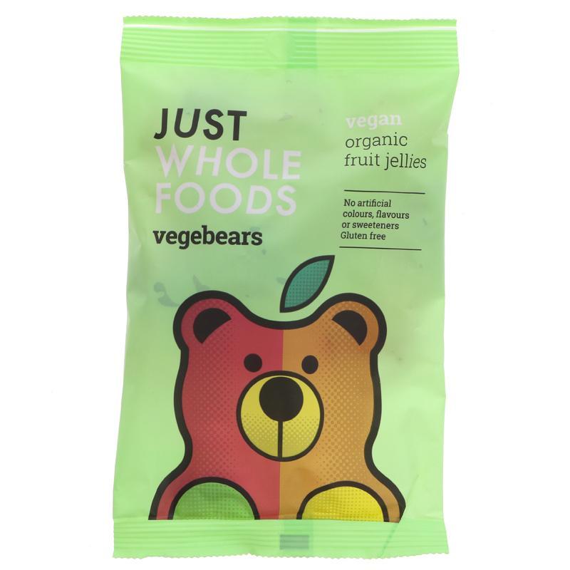 Just Wholefoods - Vegebears Fruit Jellies