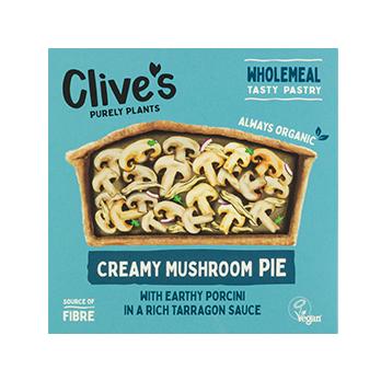 Clive's - Creamy Mushroom Pie