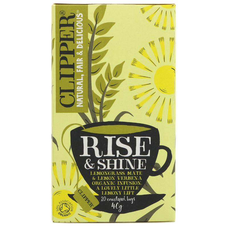 Clipper - Rise & Shine Tea (20 bags)