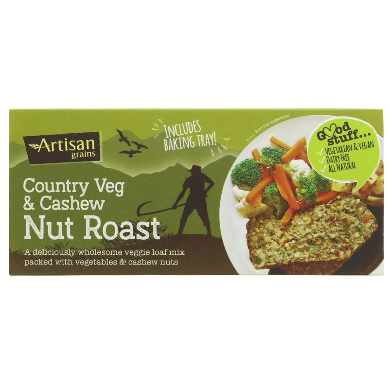 Artisan Grains - Nut Roast - Country Vegetable & Cashew