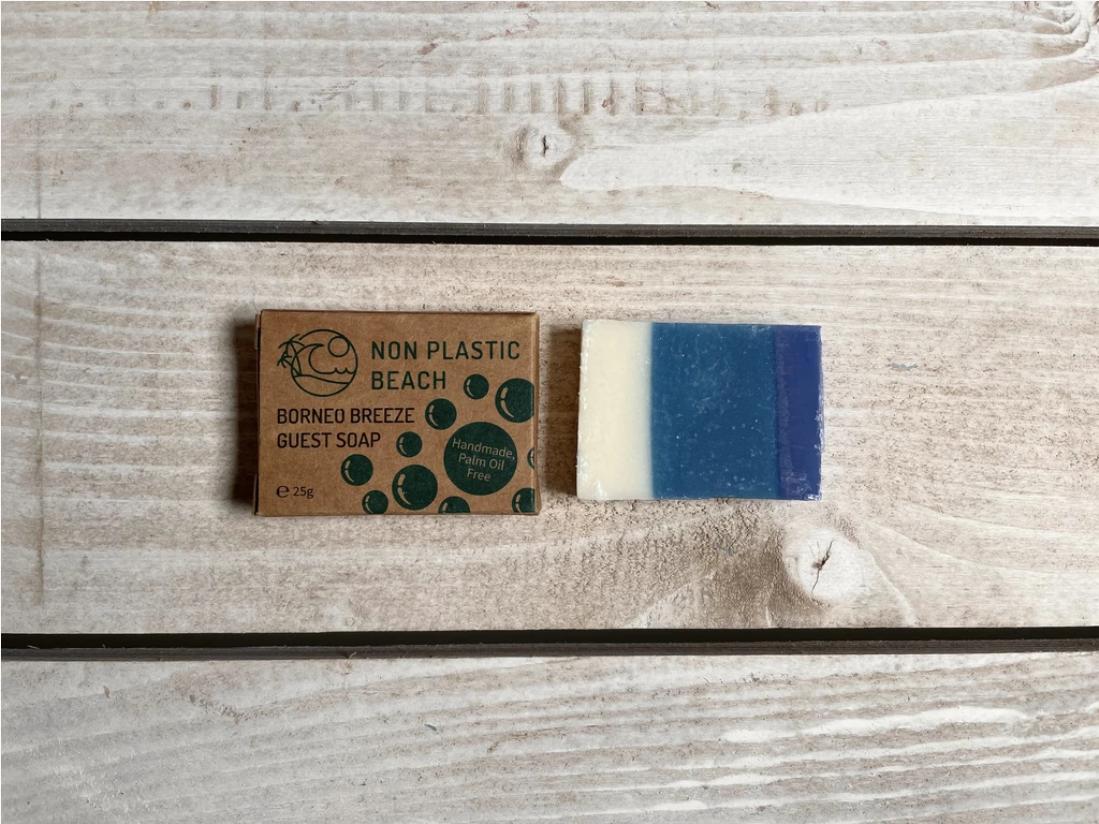 Non Plastic Beach - Handmade Guest Soap 'Borneo Breeze'