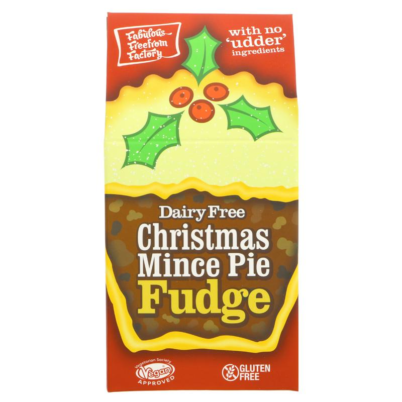 Fabulous FreeFrom Factory - Christmas Mince Pie Fudge