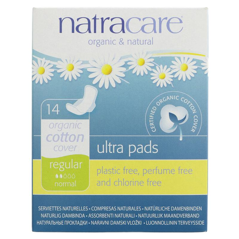 Natracare - Regular Ultra Pads with Wings