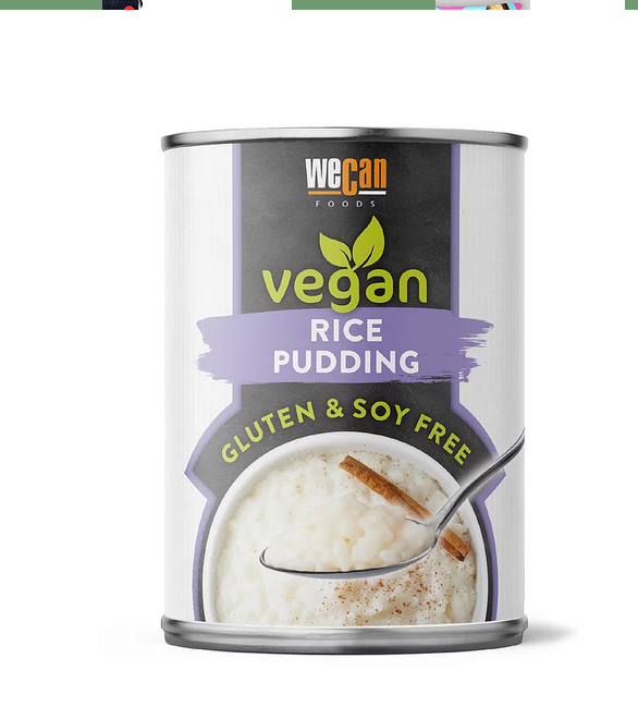 We Can Vegan - Rice Pudding ON OFFER (RRP £1.80)