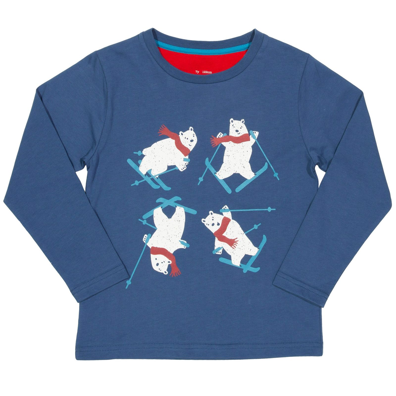 Kite Ski Bear T-Shirt