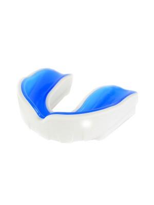 Tandbeskytter - hvid/blå - Krav Junior