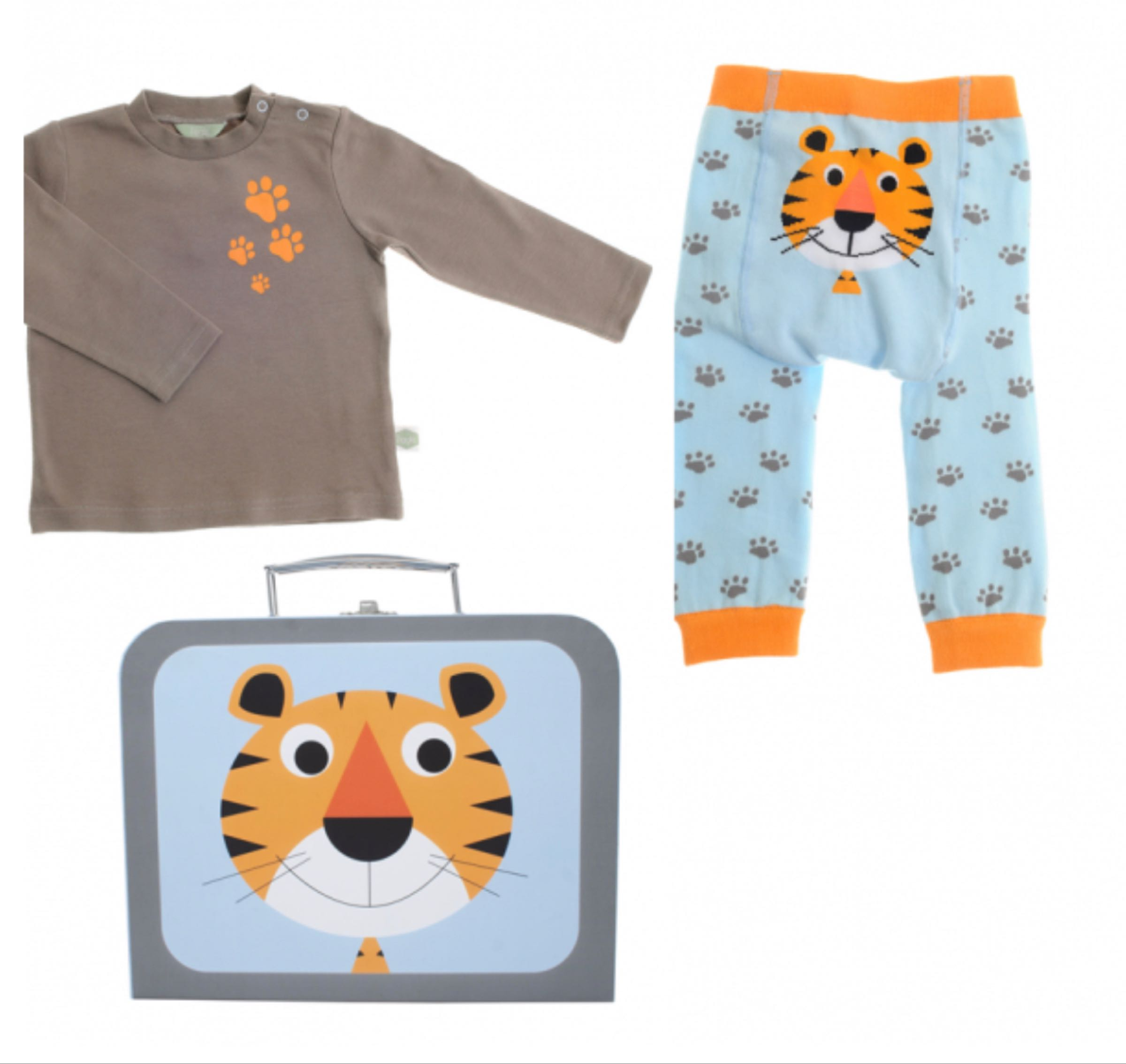 Ziggle Terence Tiger Top & Leggings Gift Set