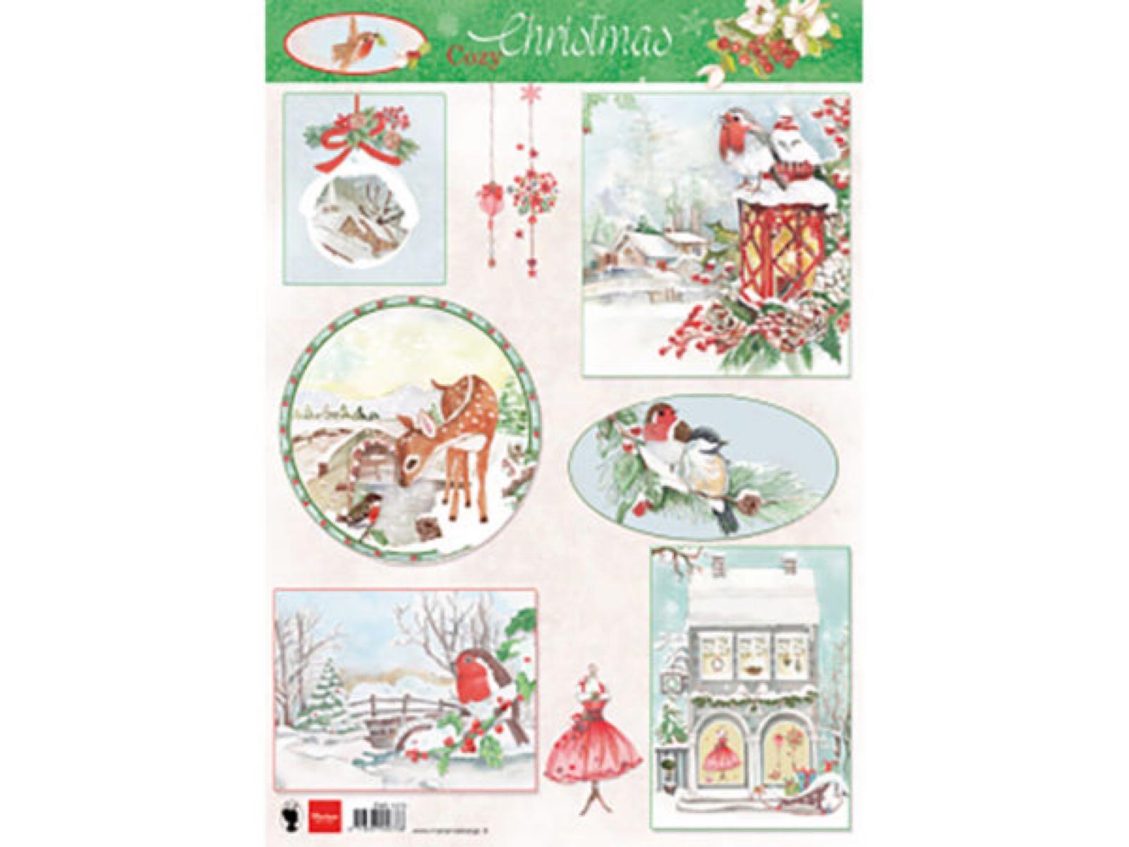 Marianne design cozy christmas A4 1270