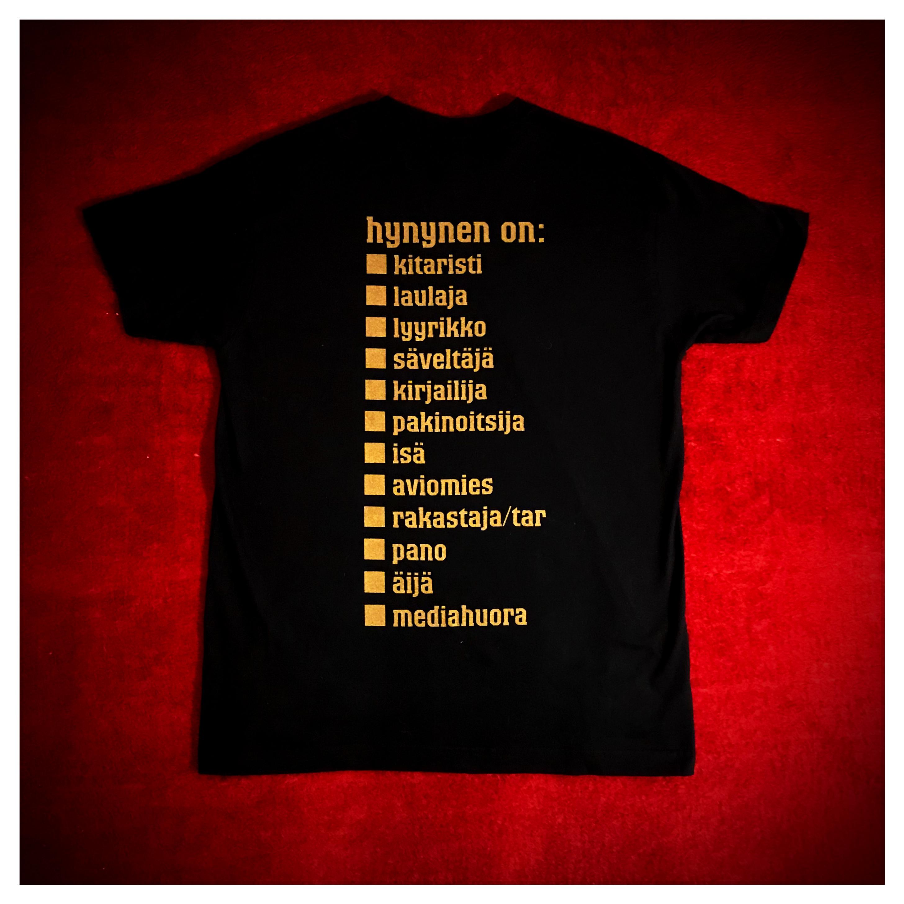 Monivalinta T-paita
