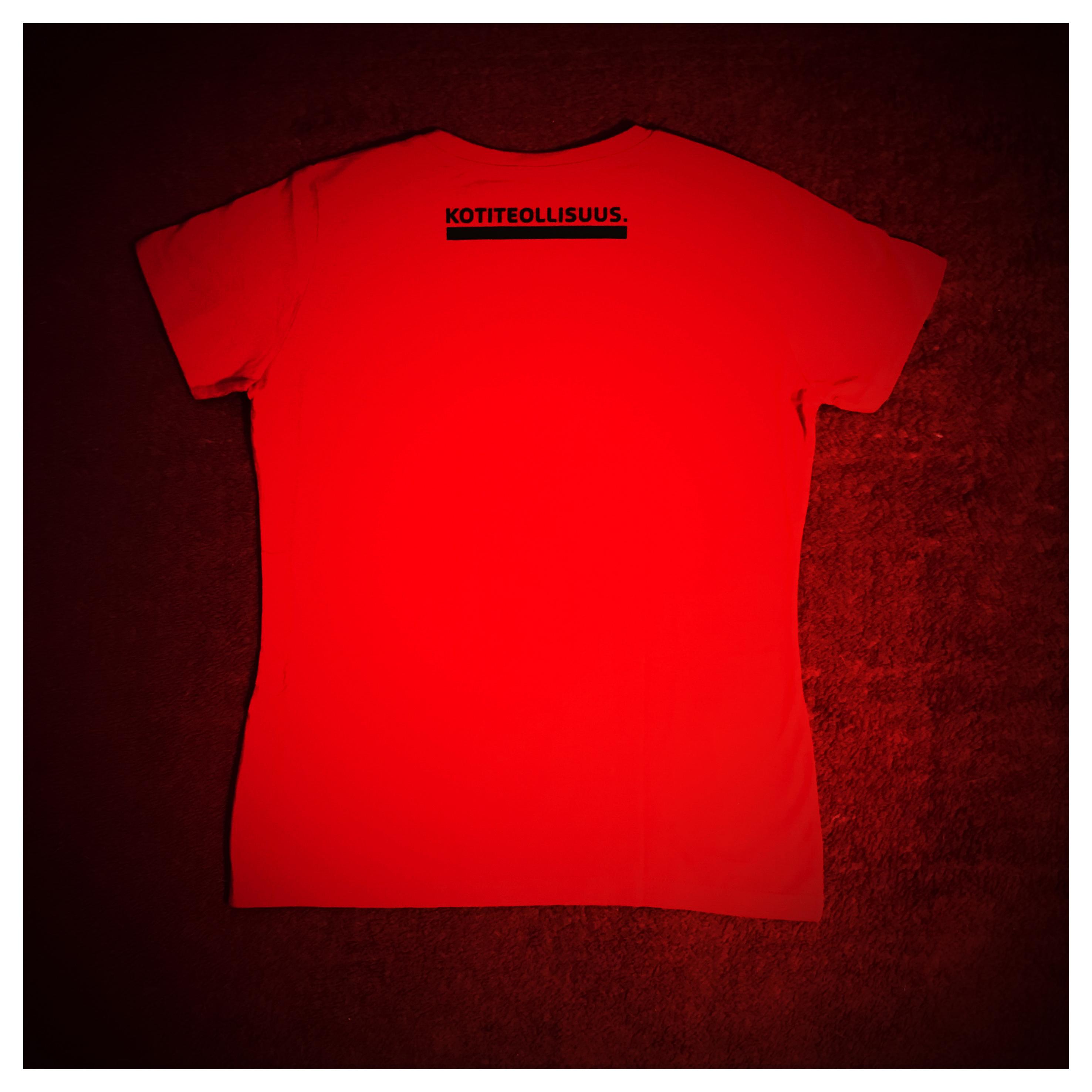 Minulla on kuukautiset Lady Fit T-paita (koko L)