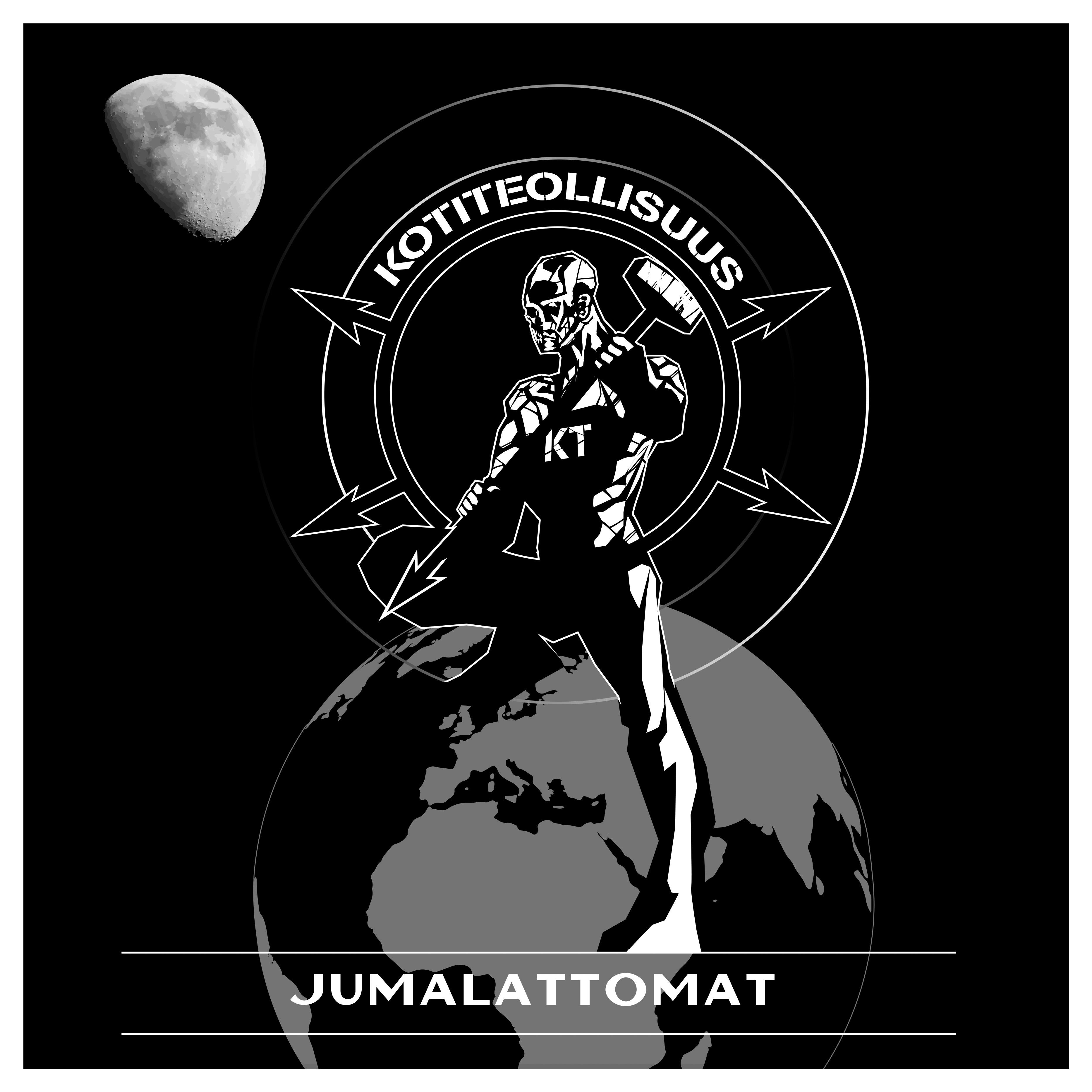 """LP -levy: Kotiteollisuus - """"Jumalattomat"""" 2LP + levymatto"""