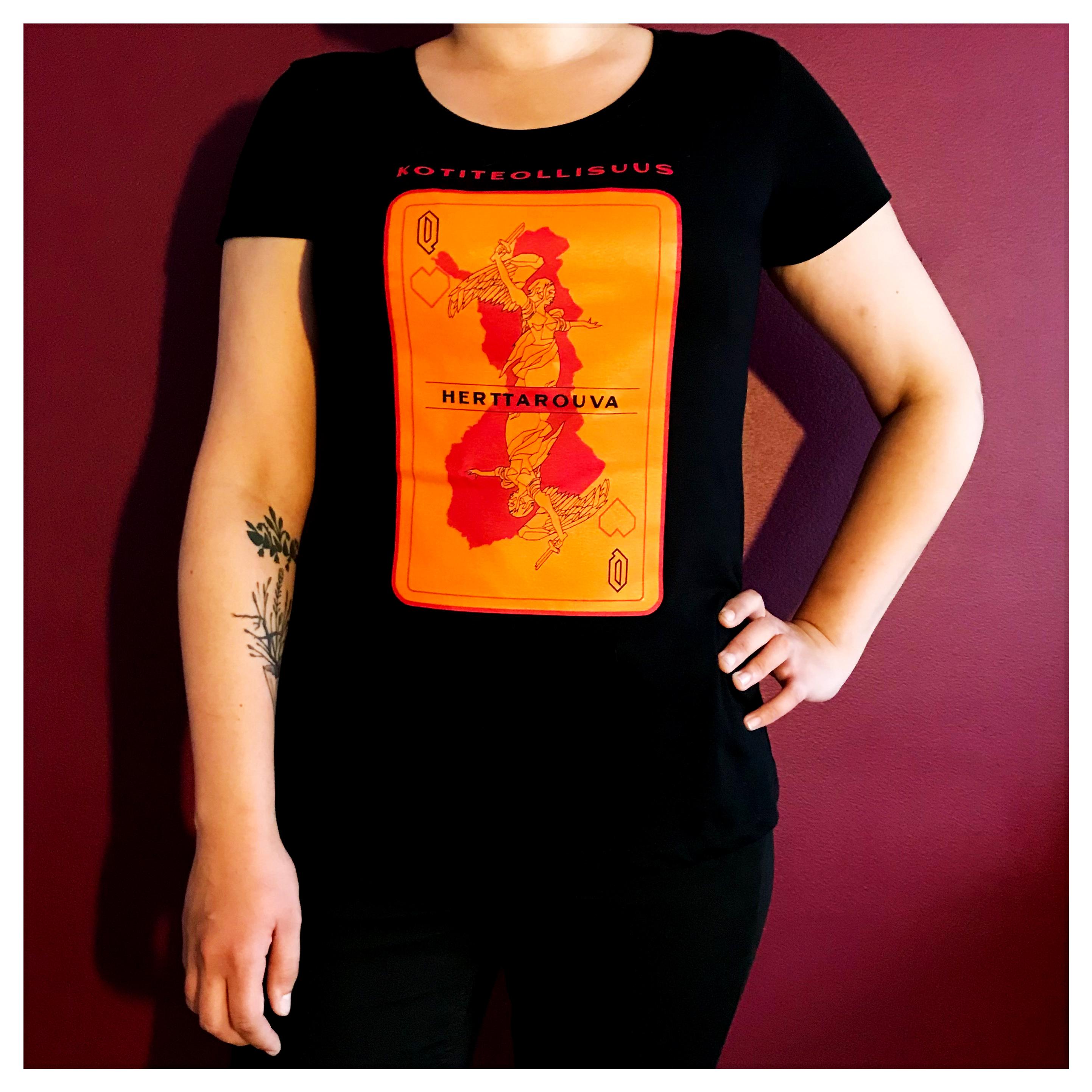 Herttarouva Lady Fit T-paita