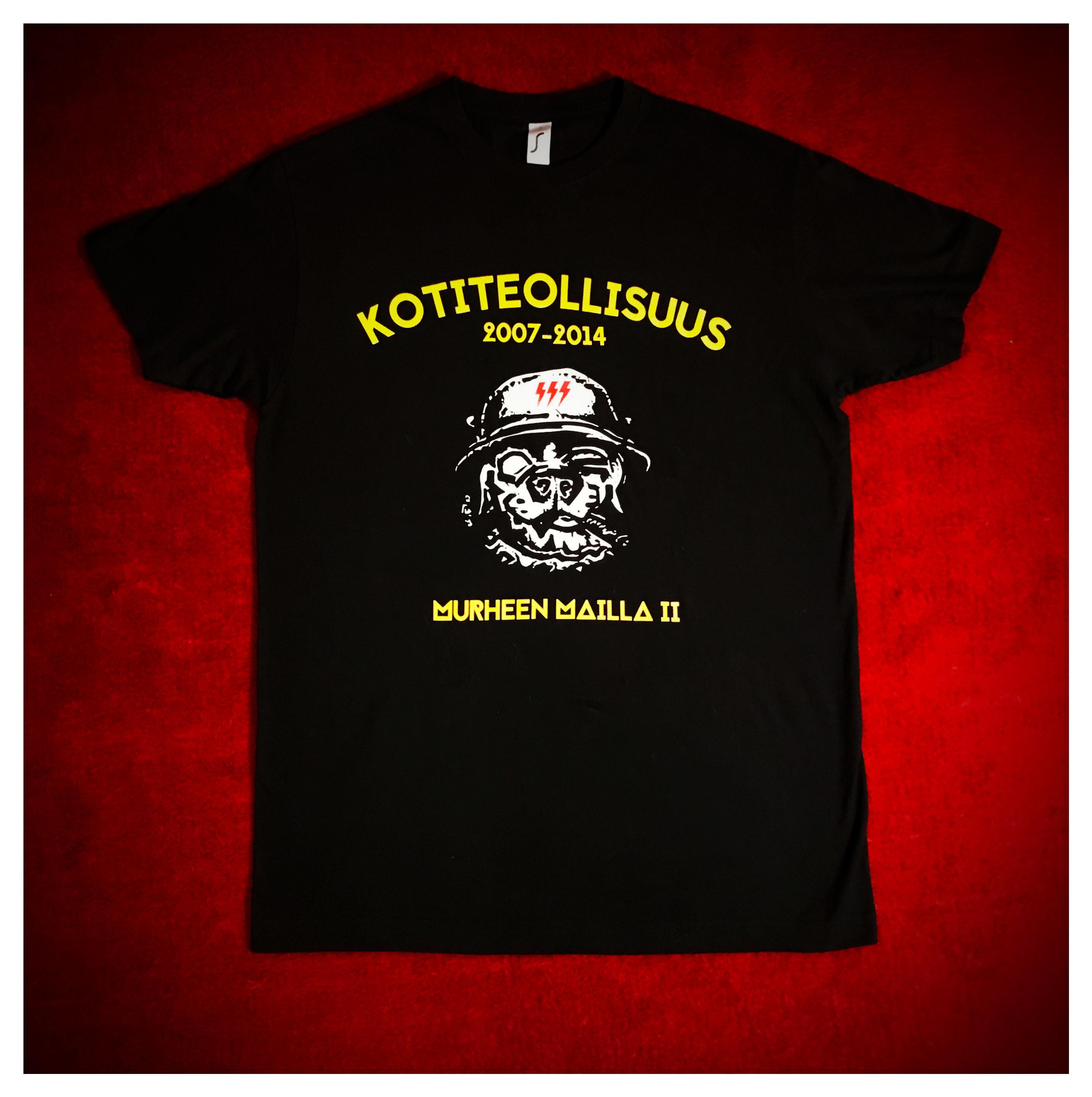 Murheen mailla II + Sotakoira III T-paita