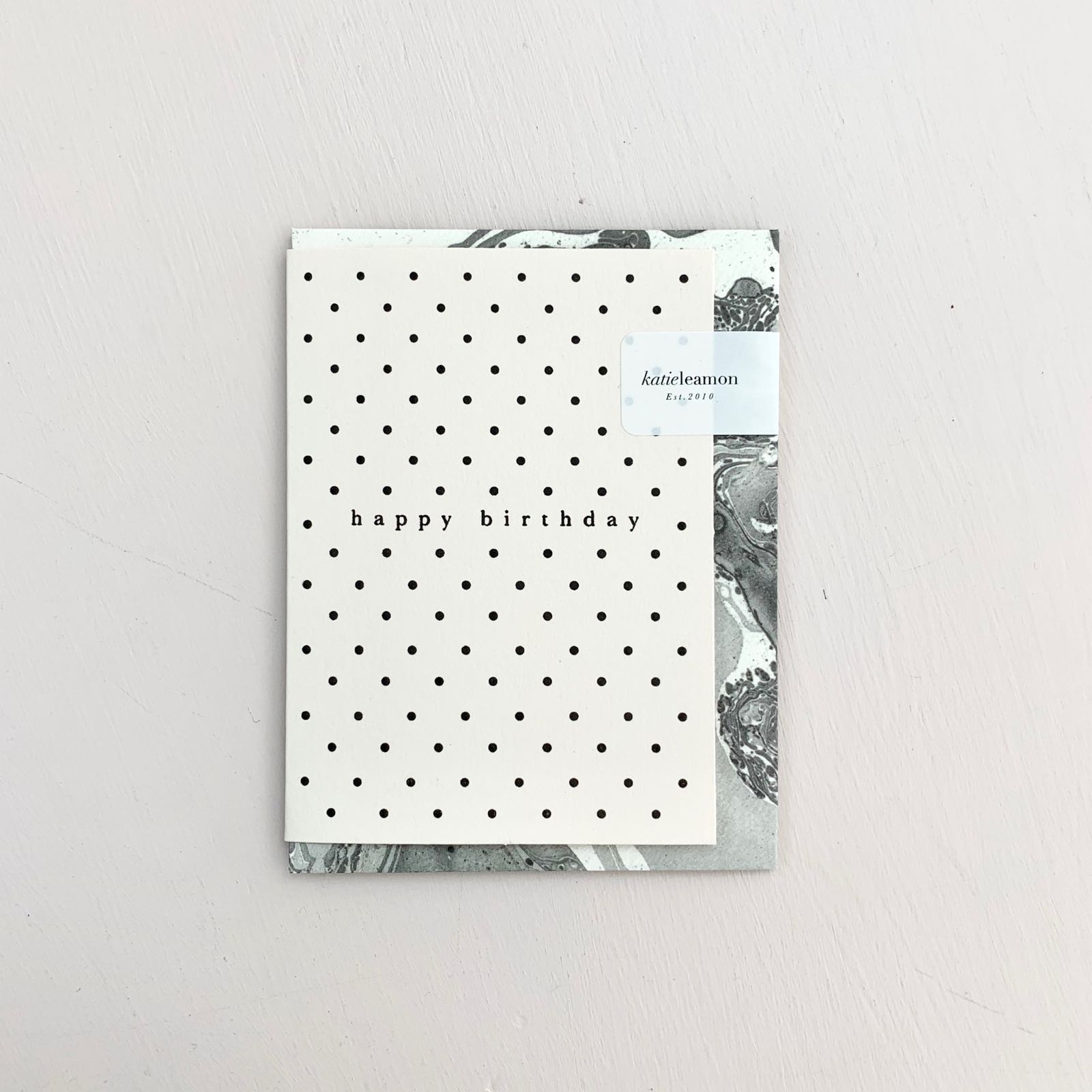 Mini Polka Dot Birthday Card