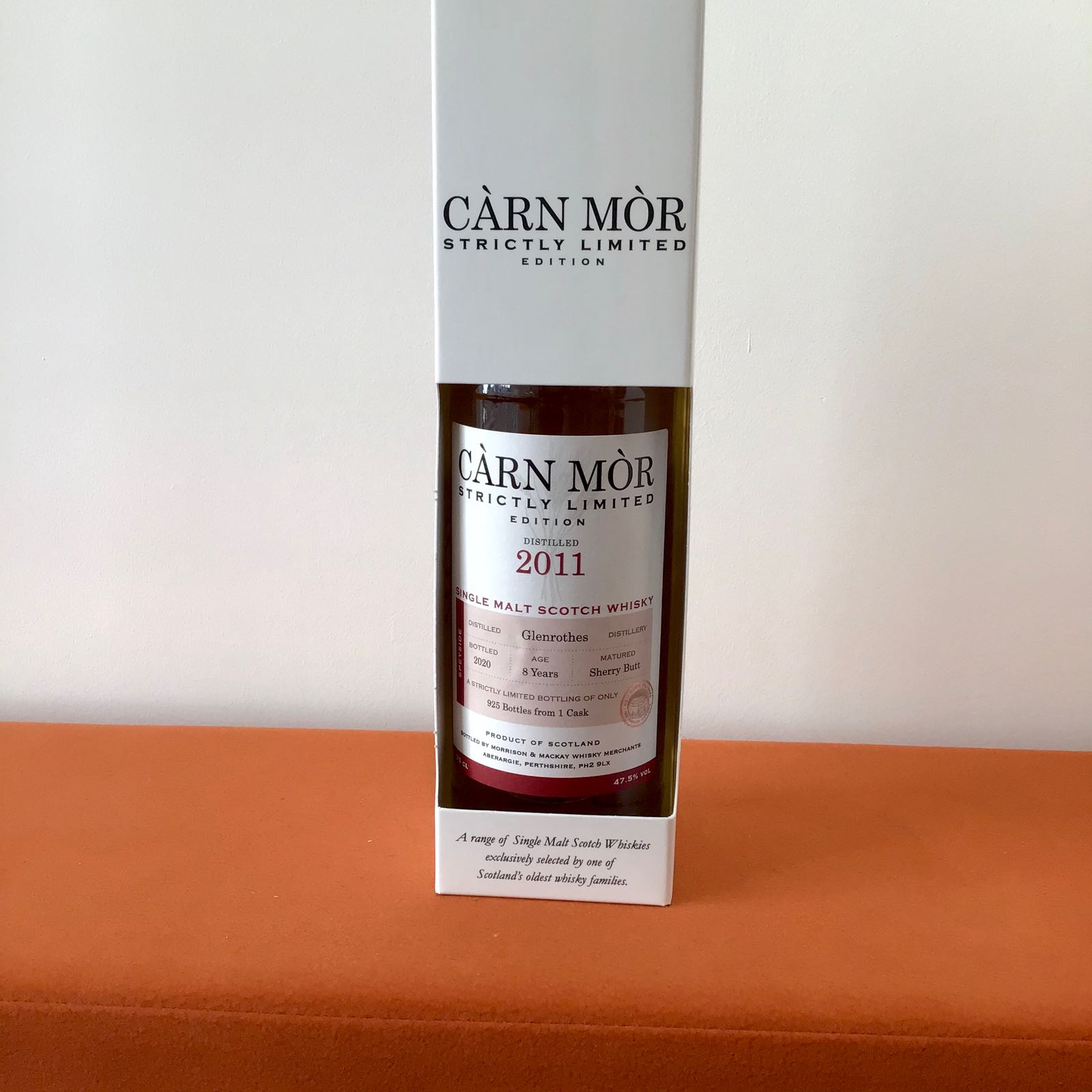 Carn Mor Strictly Limited: Glenrothes (8 Year Old) Sherry Butt