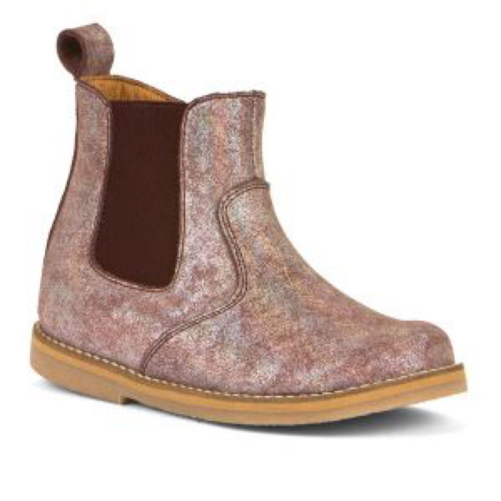 FRODDO Chelsea Boots Pink Shine G3160143-10