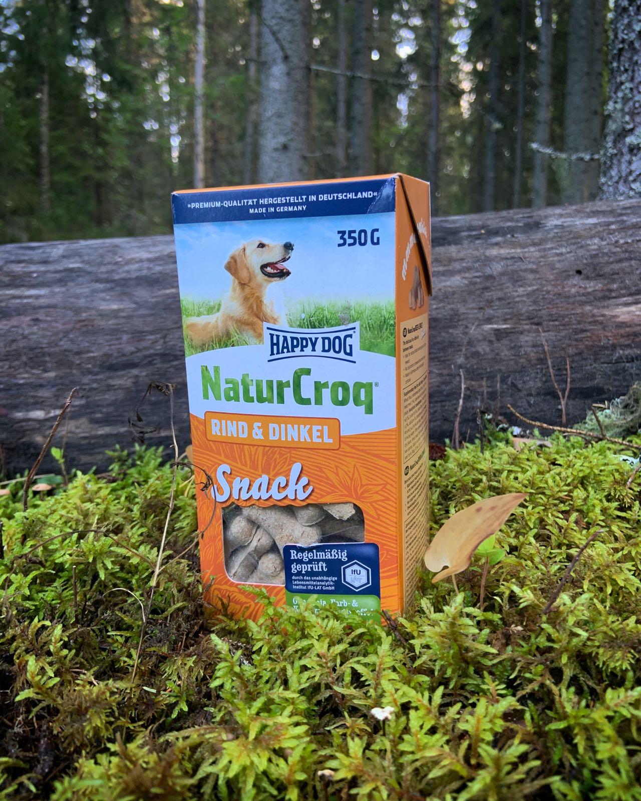 HappyDog NatureCroq Rind&Dinkel Snack