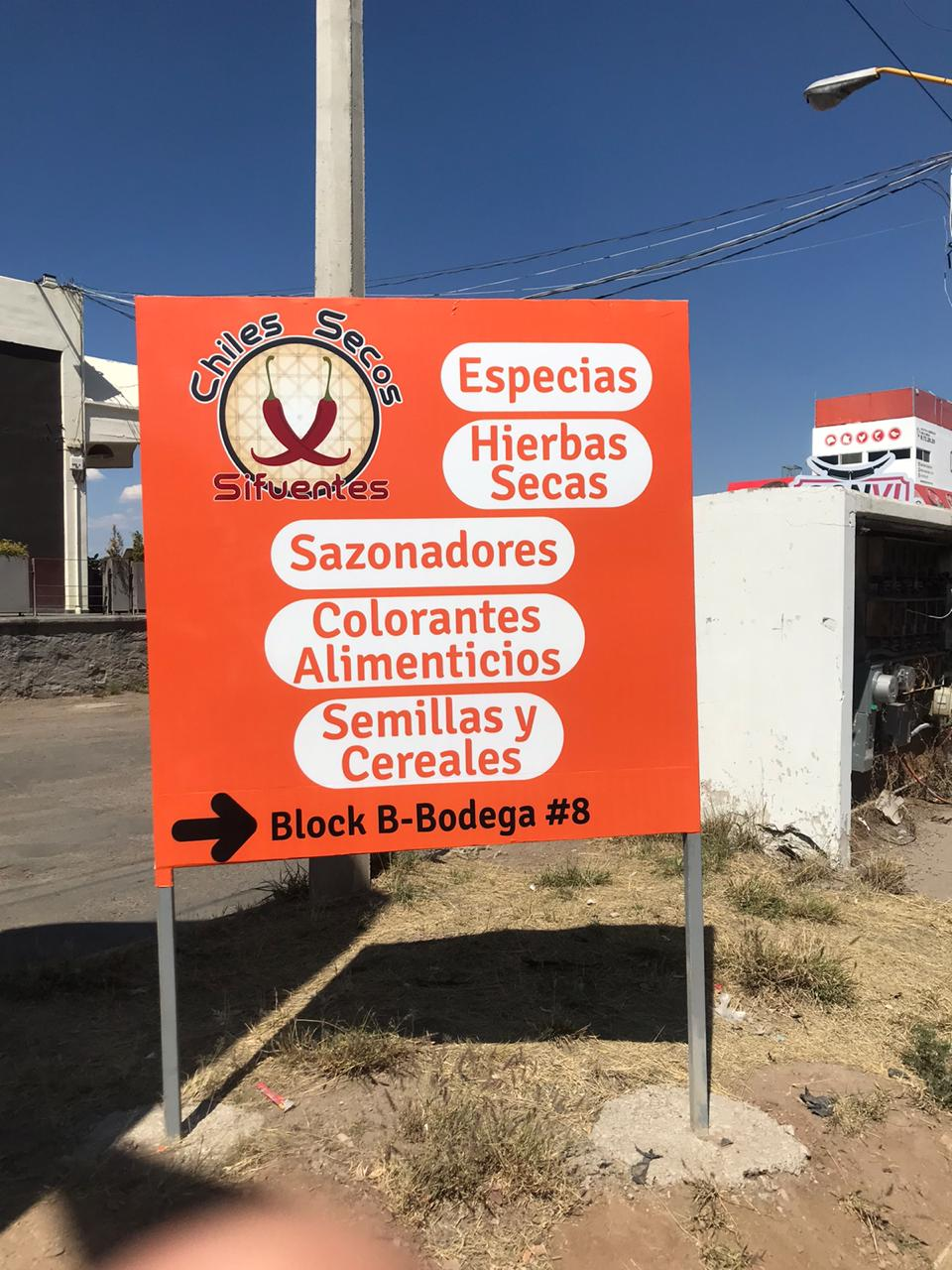 Chiles Secos Sifuentes