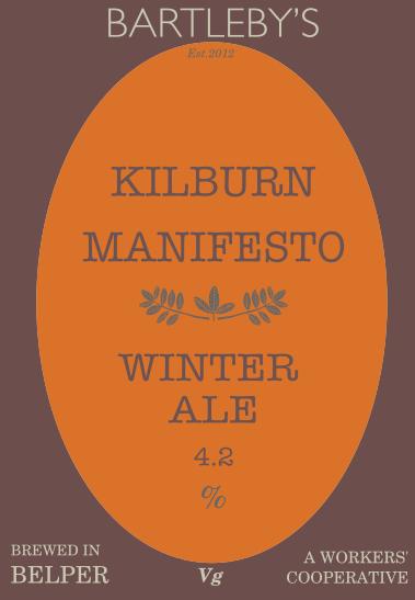 Kilburn Manifesto - Bartleby's Brewery (2 Pints Delivered)