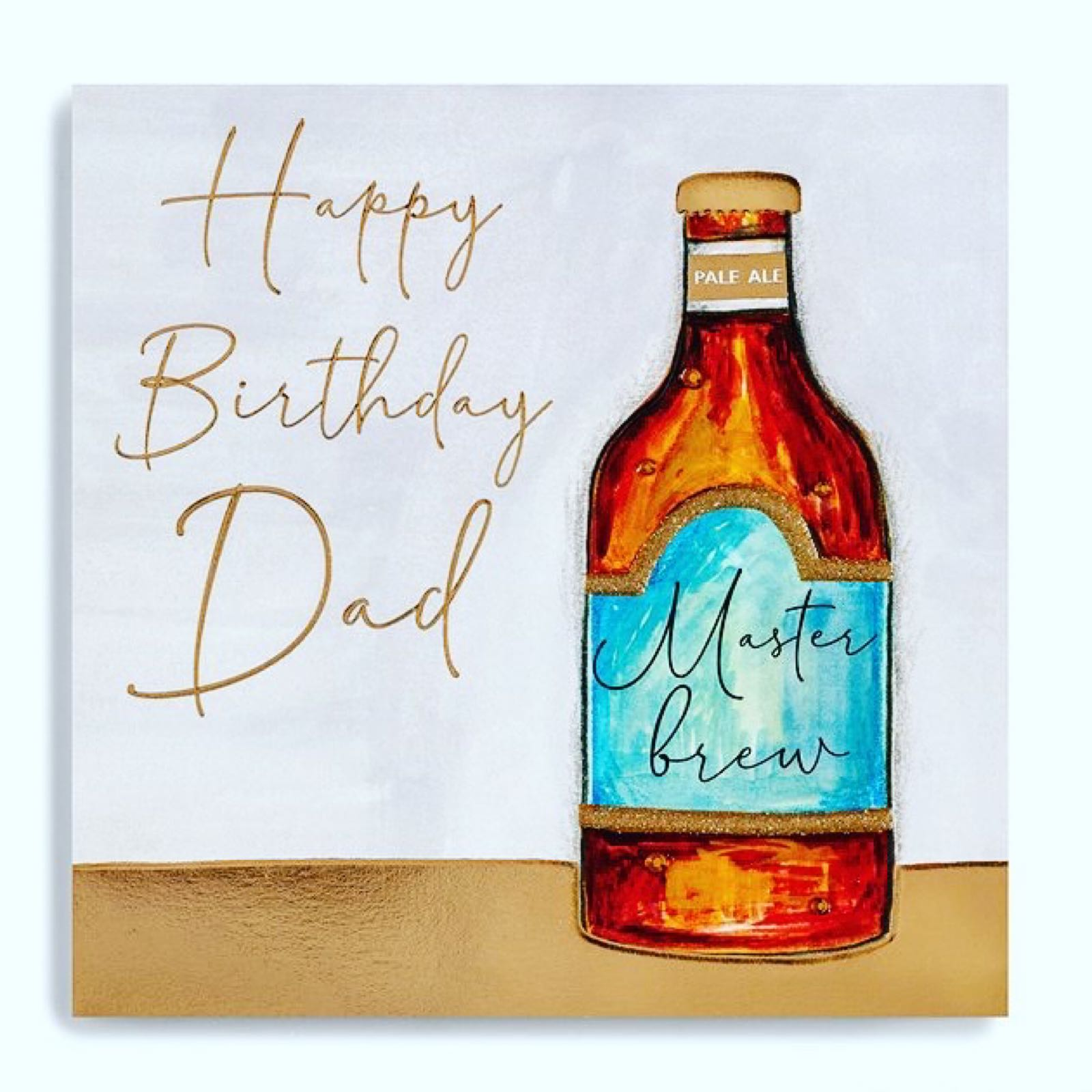 Janie Wilson happy birthday dad card