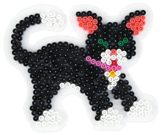 Hama Midi piggplate Katt