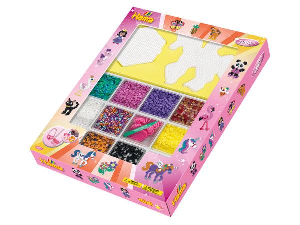 Hama Midi Sett - Giant open gift box Pink