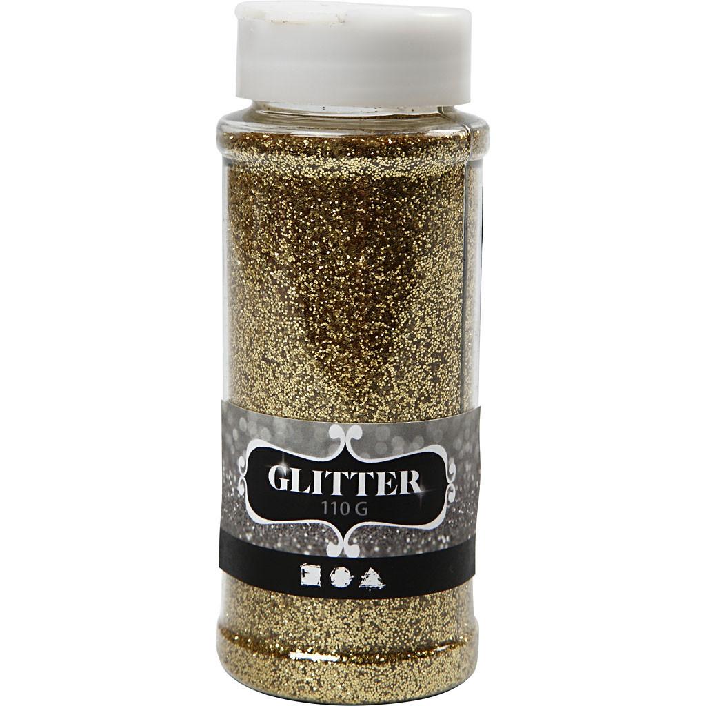 Glitter, 110 gram gull
