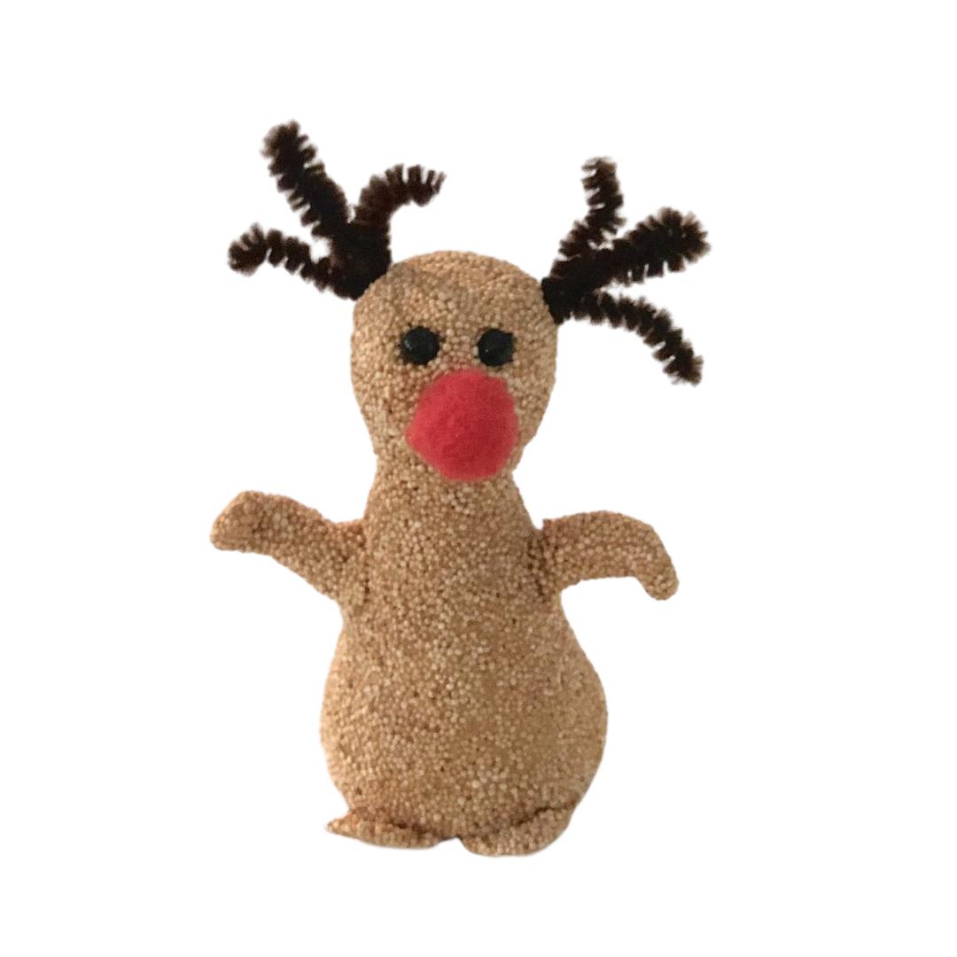 DIY reinsdyret Rudolf