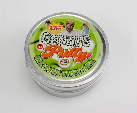 Genius putty Glow in the dark