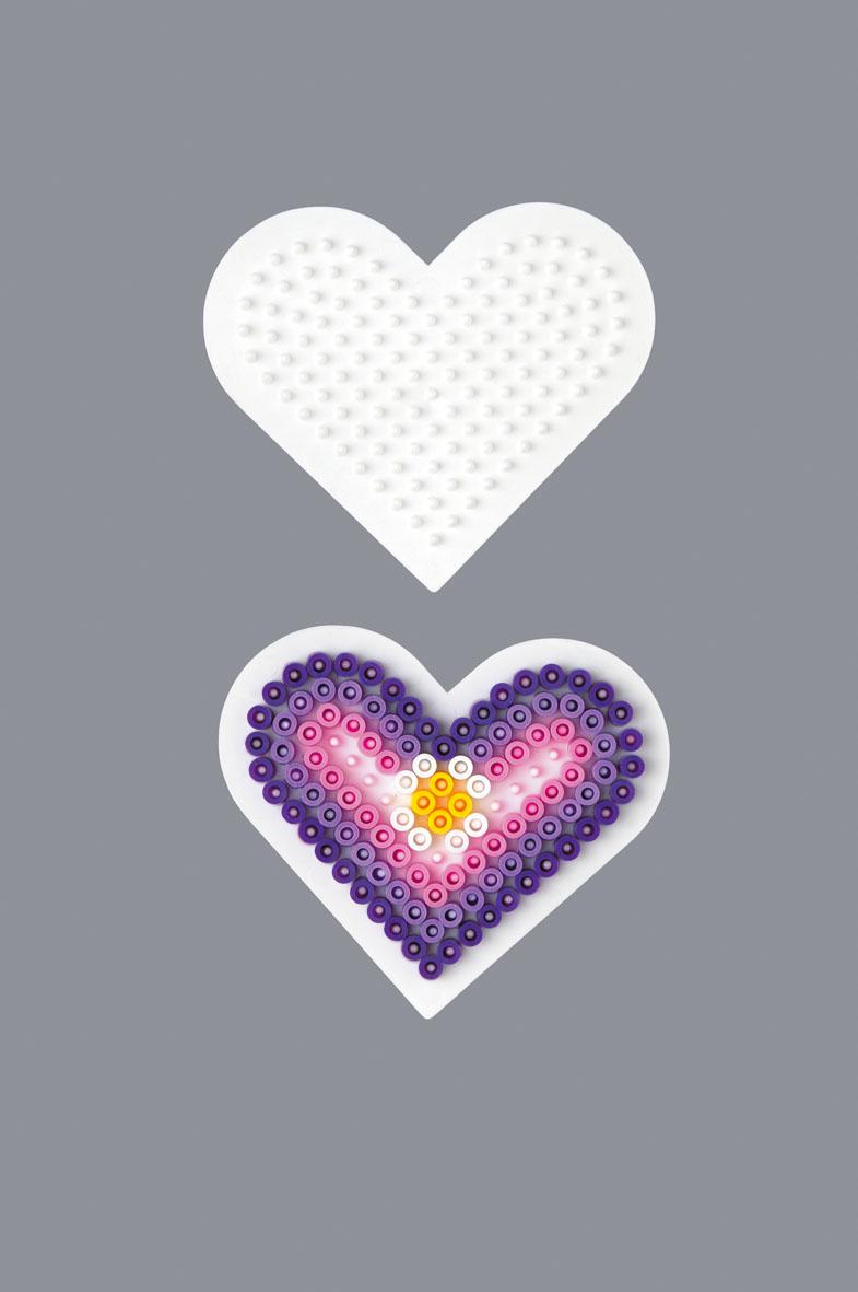 Hama Midi piggplate lite hjerte