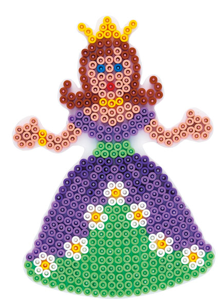 Hama Midi piggplate Prinsesse