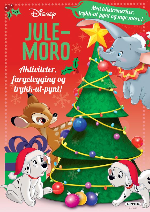 Aktivitetsbok Disney julemoro