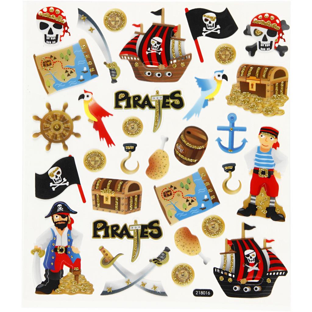 Pirat, klistremerker