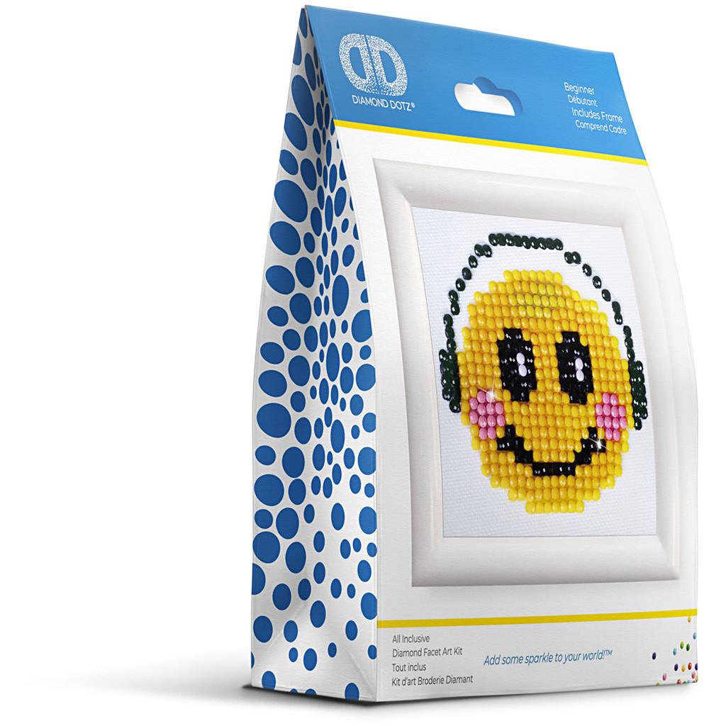 Smiley, Diamond Dotz