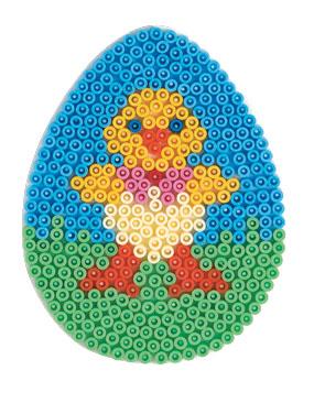 Hama Midi piggplate Stort Egg