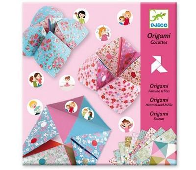 Hobbysett, origami spå - Djeco