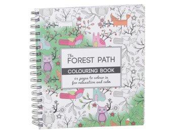 Forest Path fargebok