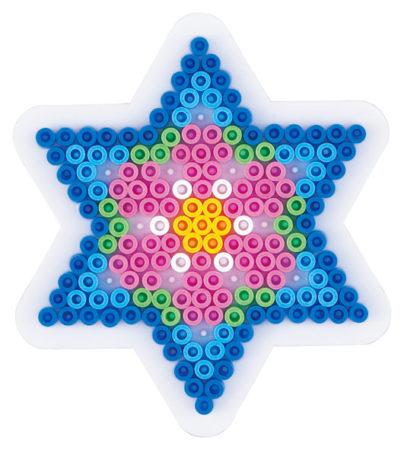 Hama Midi piggplate liten stjerne